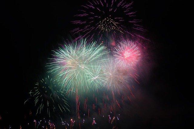 Dubai Food Festival Fireworks