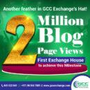 2 Million Blog Page Views- GCC Exchange Blog
