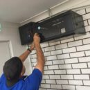 telephone line repairs