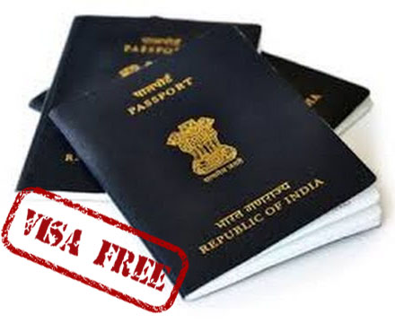 visa-free countries for India