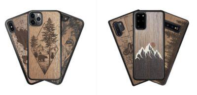 wooden phone case