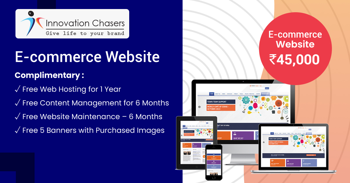 E-commerce Website- Design and Development Charges