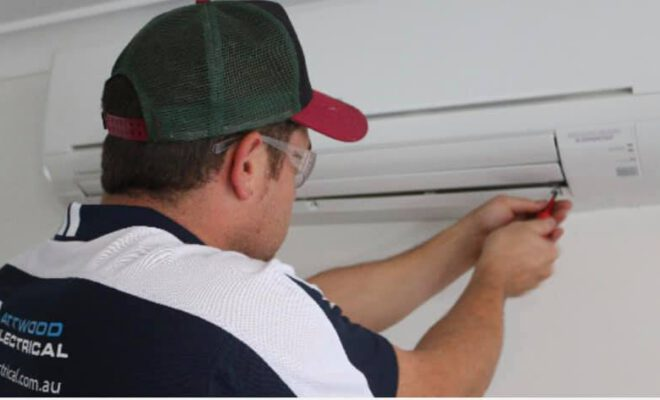Air conditioner Installation by Electricians