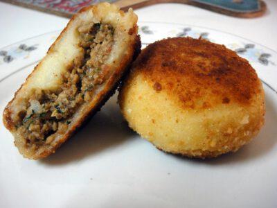 Goan Beef Mince Potatoes Chops